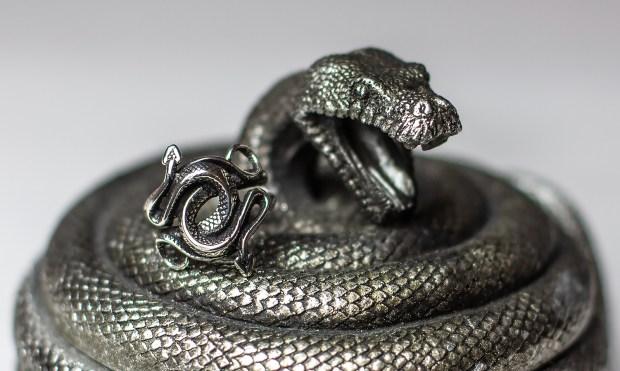Schlangen Ring von Et Nox