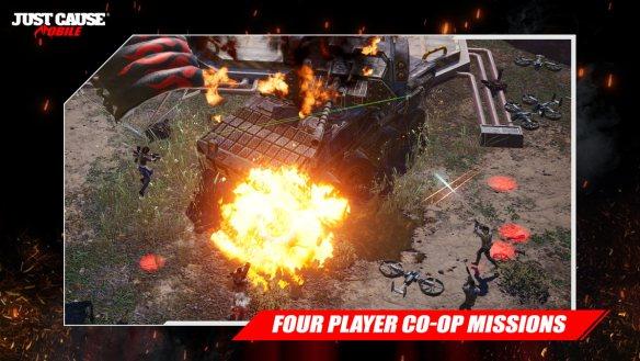 In Just Cause: Mobile gibt es vier verschiedene Spiel-Modi.