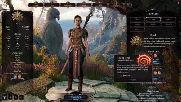 Der Druide ist die neue Klasse in Baldur's Gate 3.