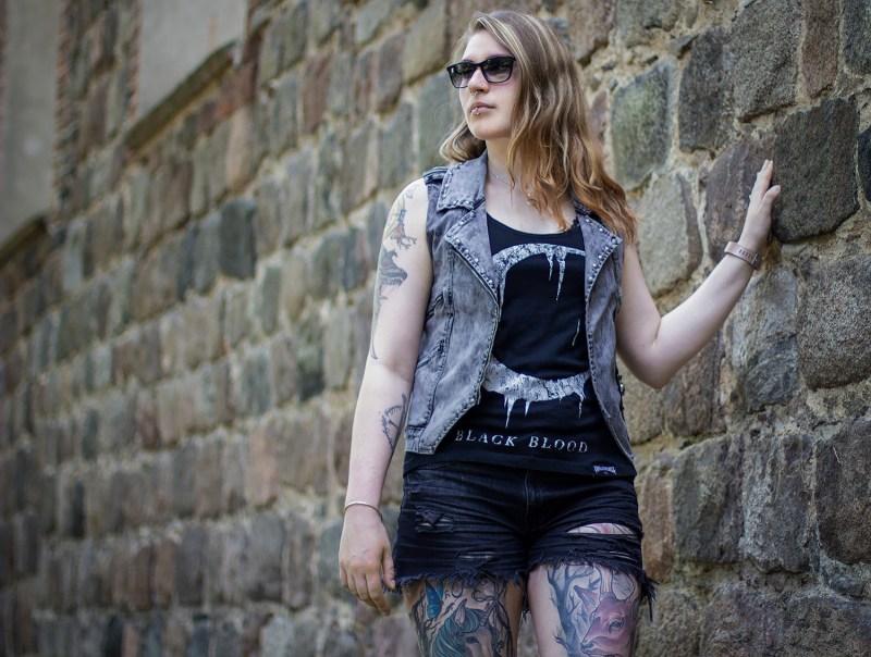 Rock Rebel By EMP graue Weste