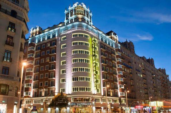 Hotel Emperador Cenas de Navidad Madrid