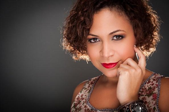 La cantante venezolana Sibyl González en Madrid