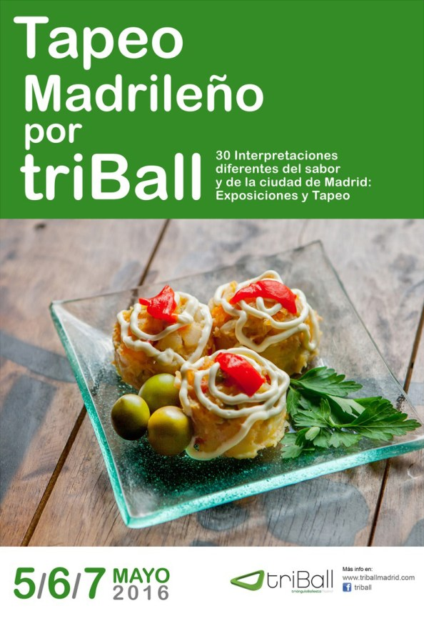 Cartel de Tapeo madrileño por triBall