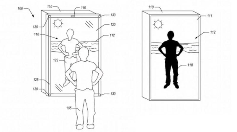 Amazon dépose le brevet d'un miroir qui vous habille virtuellement