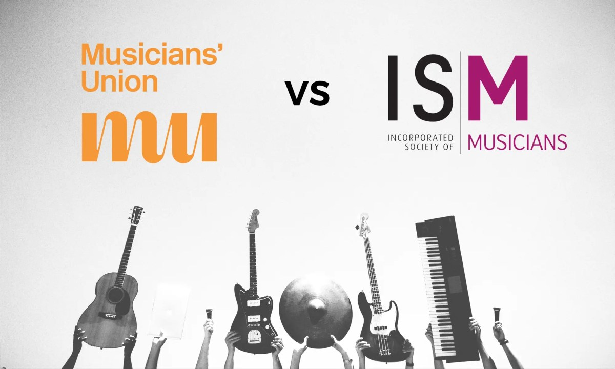 Incorporated Society of Musicians or Musicians' Union?