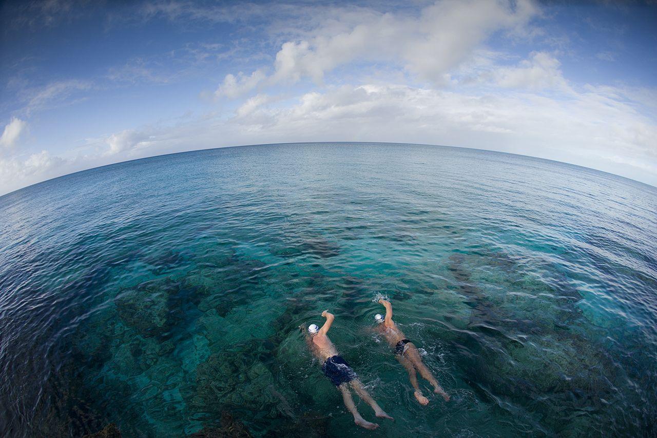 tips para nadar en aguas abiertas