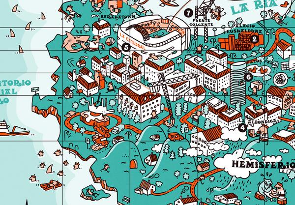 an-illustrative-map-of-bilbao-spain3