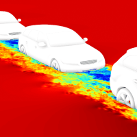 Power in Numbers: Assessing Vehicle Convoy Aerodynamics with CFD Simulation