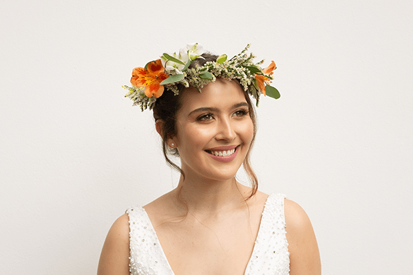 Beautiful Flowers for a bridal crown