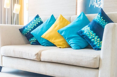 Cushion decor is an effective way to give any room a new look