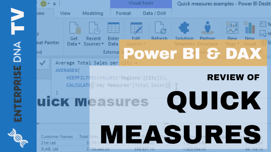 Quick Measures Deep Dive - How To Use Them in Power BI Models