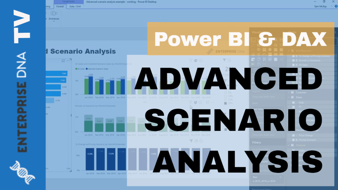Develop Advanced Scenario Analysis Models Using DAX in Power BI