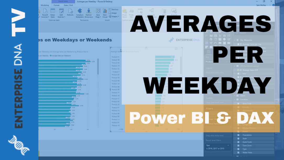 Isolating Weekday or Weekend Results Using DAX in Power BI