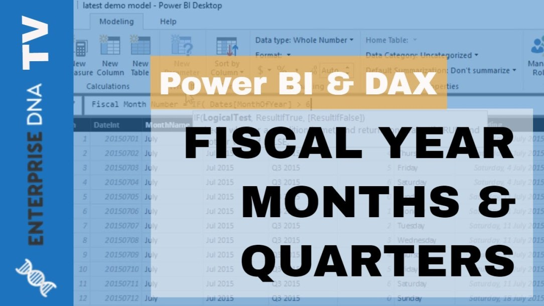 Filter Your Data By Unique Financial Years & Quarters - Power BI Modeling Technique