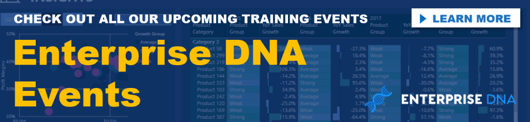 Enterprise DNA Events