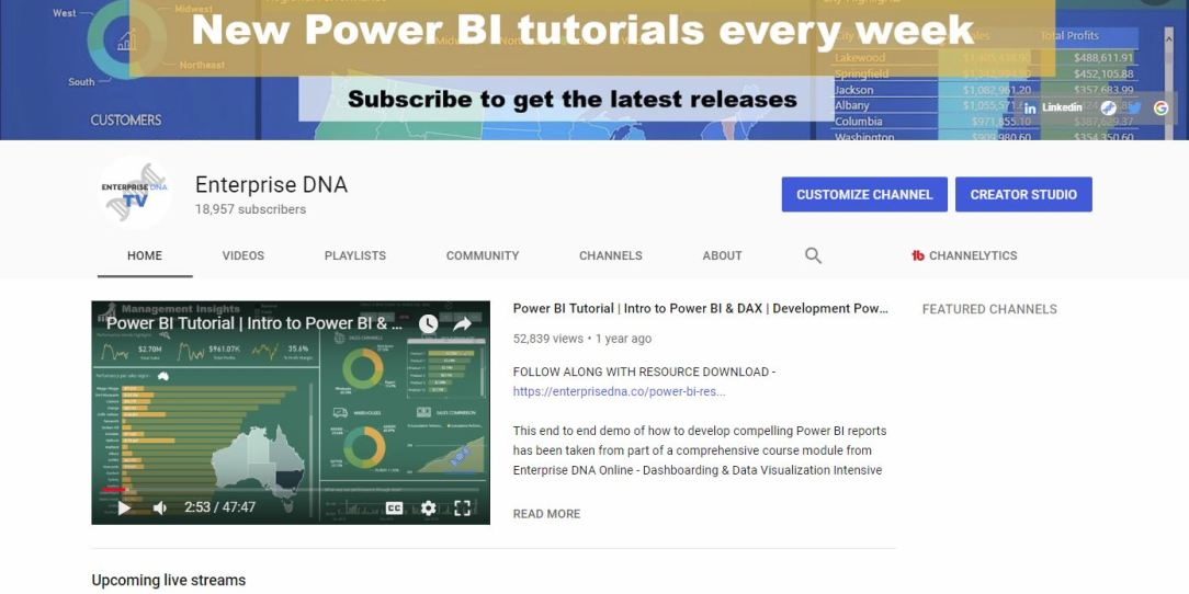 Enterprise DNA | Power BI Training and Resources