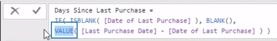 purchase date in power bi