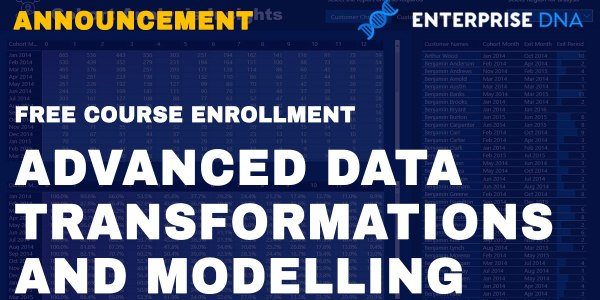 Advanced Data Transformations and Modelling in Power BI