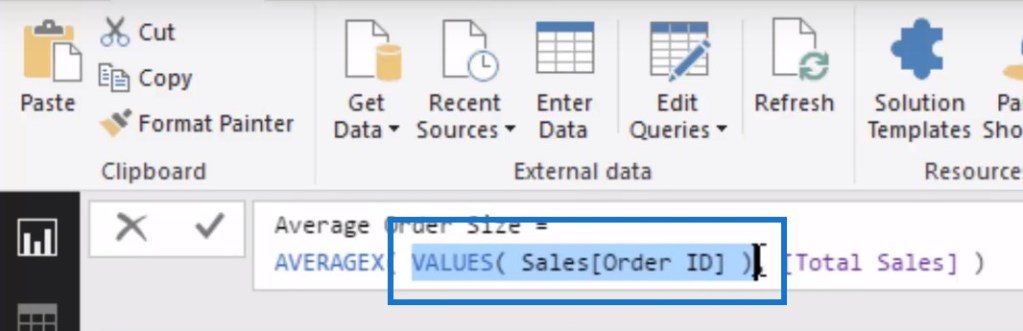all function in power bi