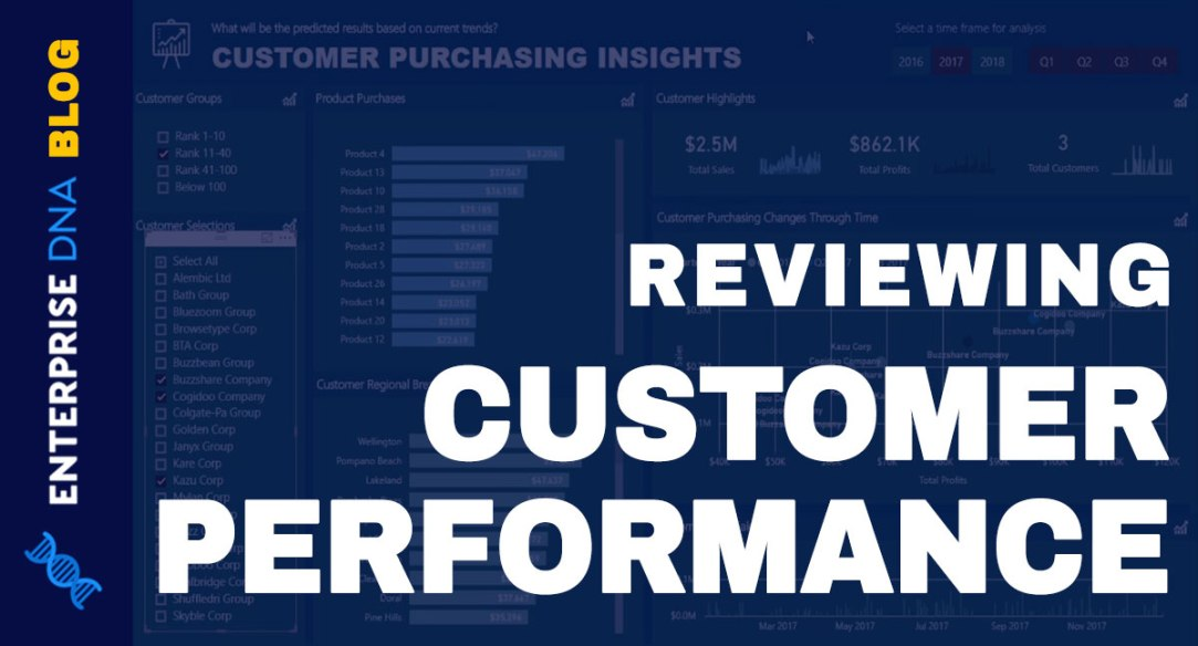 How we can create some compelling customer analysis overtime Power BI Video Tutorial
