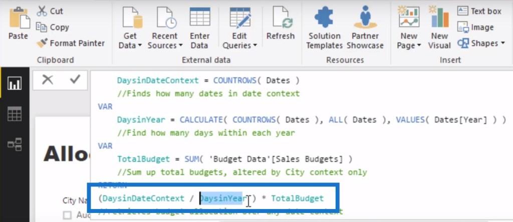 budget analytics