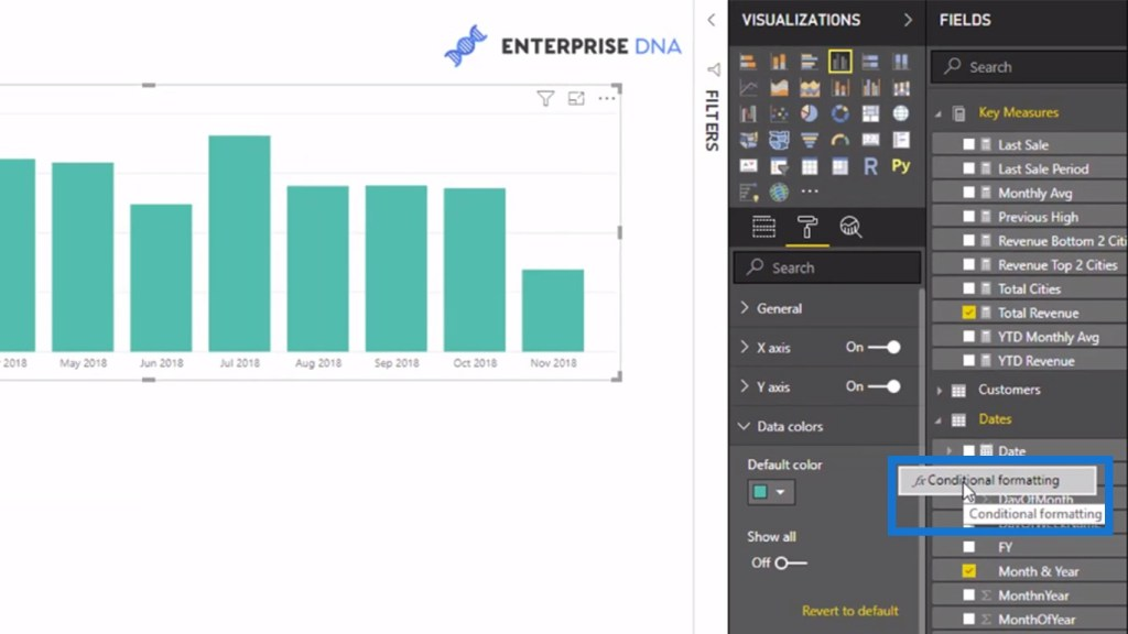 Conditional formattingfor Power BI visuals