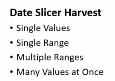 date harvest