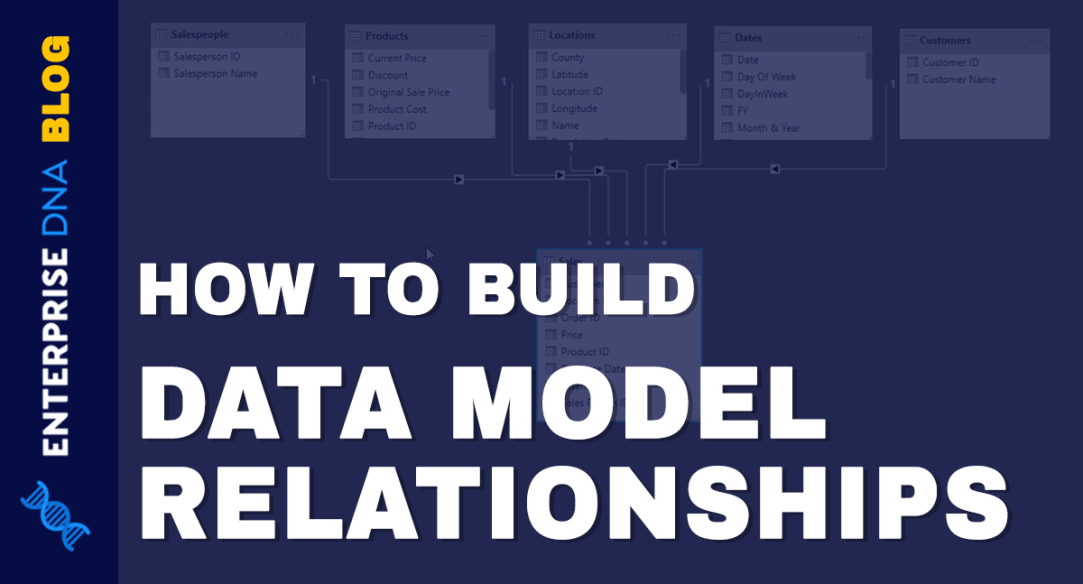 Building Your Data Model Relationships