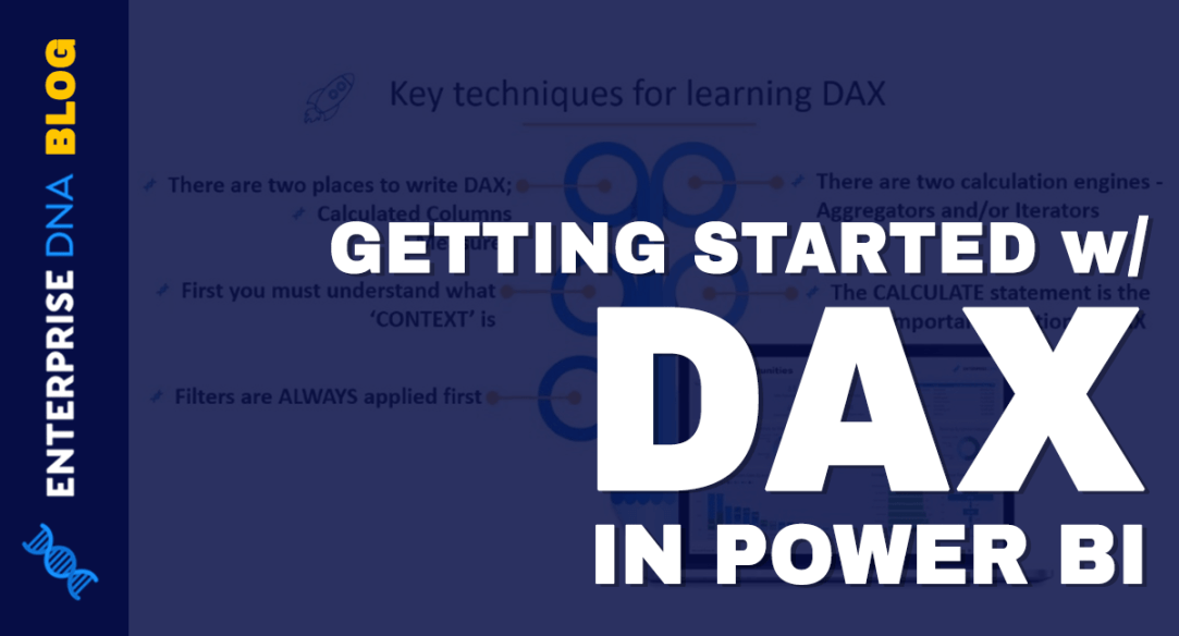Getting Started with DAX