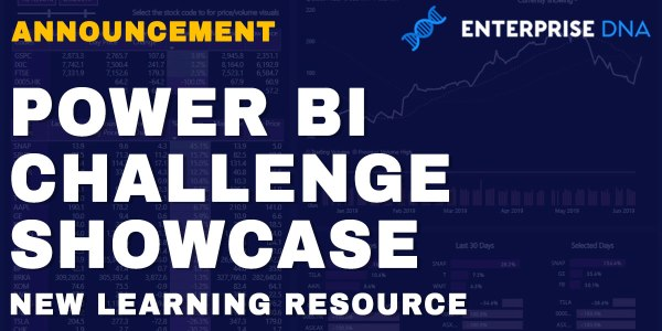 Power BI Challenge Showcase New Learning Resource