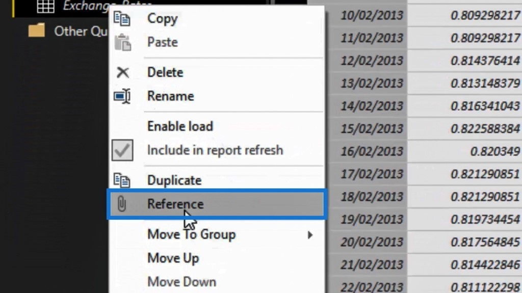 referencing the table after unpivoting columns in Power BI