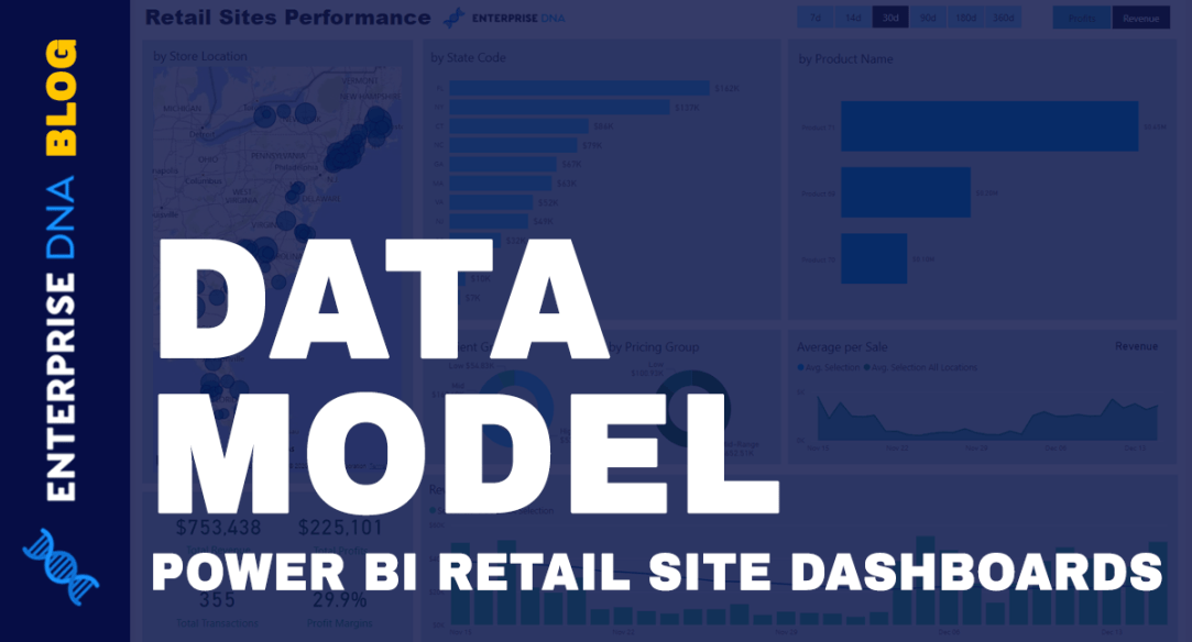 Data Model For Power BI Retail Site Dashboards