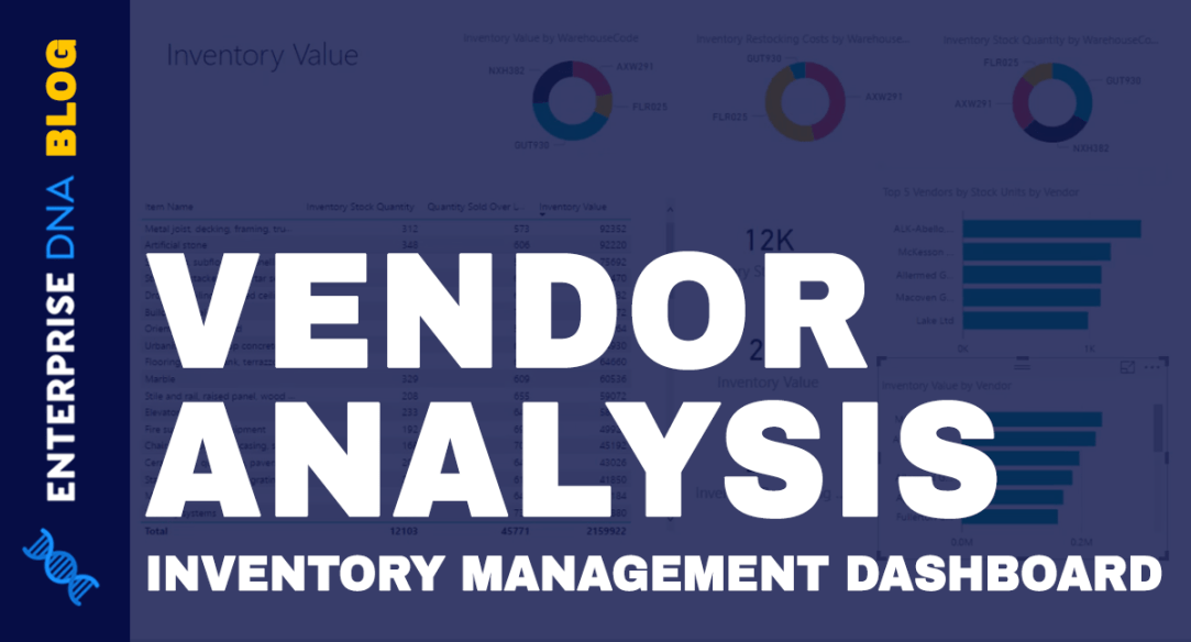 Vendor Analysis In Inventory Management Dashboards