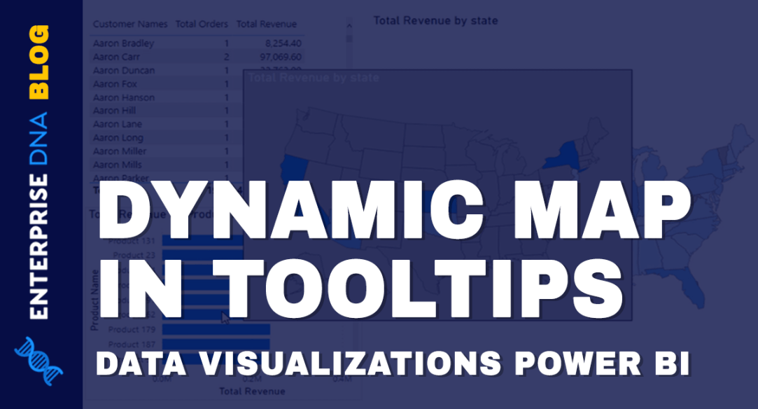 Data Visualizations Power BI - Dynamic Maps In Tooltips