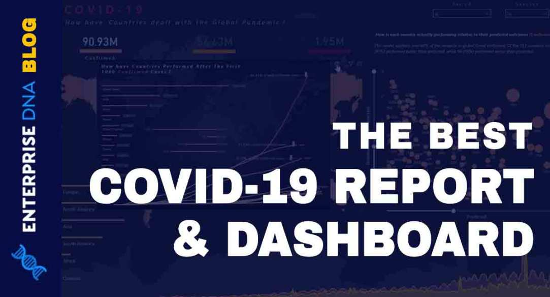Pandemic Report & Dashboard In Power BI (COVID-19)