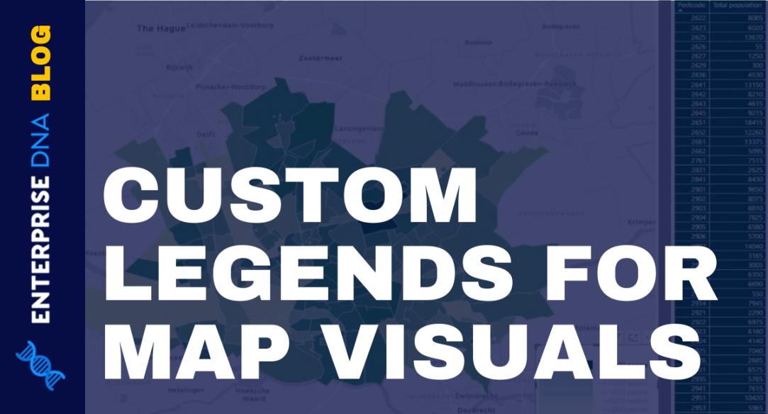 Power BI Map Visual: Creating A Custom Legend