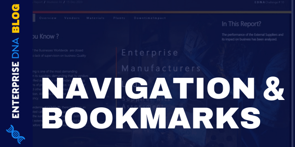 Power BI Interactive Reports- Navigation And Bookmarks