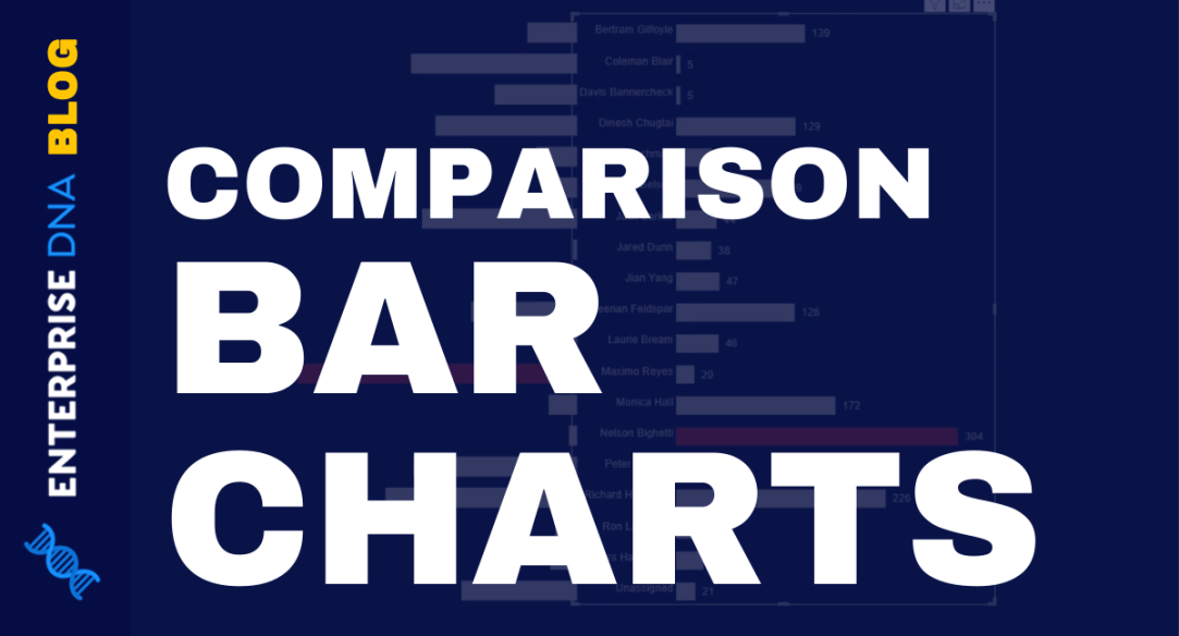 Comparison Bar Charts With Charticulator In Power BI