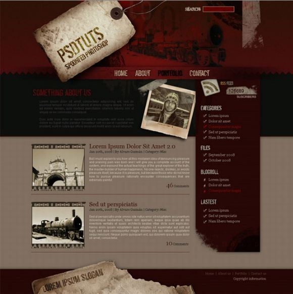 How to Create a Grunge Web Design