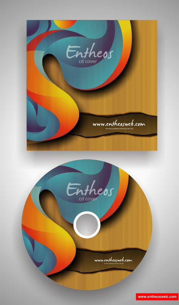Make your own CD Cover with CorelDraw