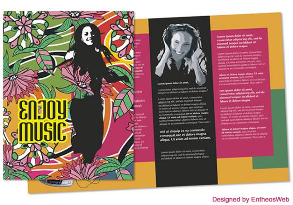 Free Coreldraw Music Brochure Download