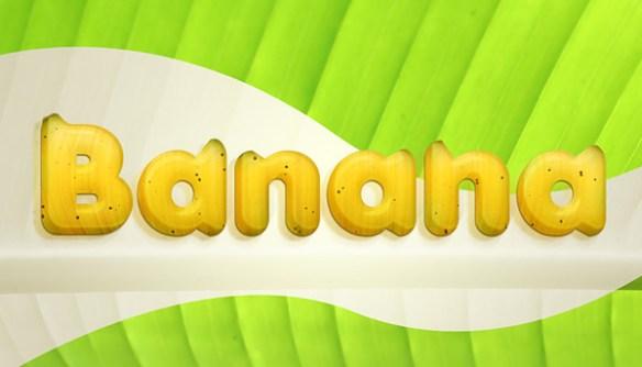 Banana Text