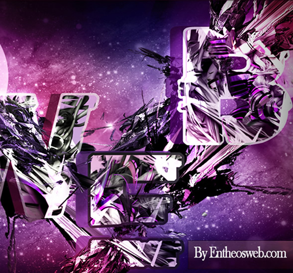 Awesome Text Effect in Photoshop