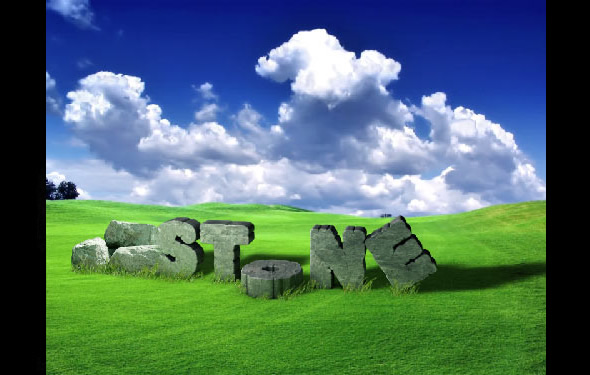 Create Cracked 3D Stone Text Effect with Photoshop and Cinema 4D