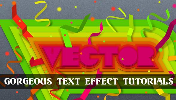 Best Text Effect Tutorials