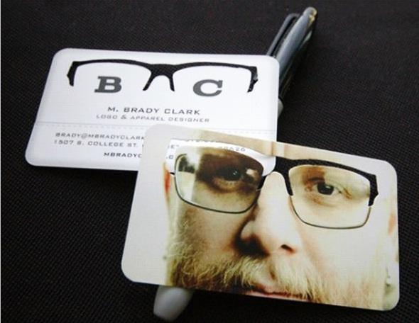M. Brady Clark Business card