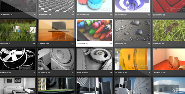 Papervision3D XML Gallery