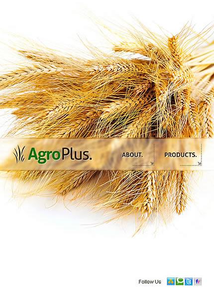 Agro Plus Facebook Template