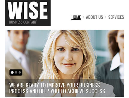 Wise Business Facebook Template