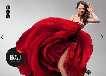 Bravo Fashion Flash Website